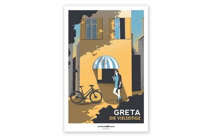 פוסטר שינדלהאואר גרטה - poster Schindelhauer Greta